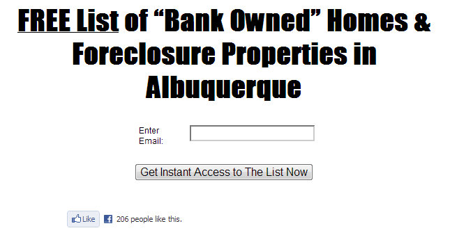 Albuquerque Foreclosures For Sale